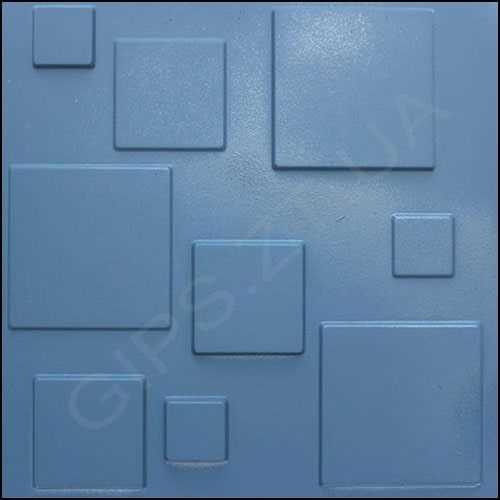 Гипсовая 3д панель • Плитка • крашена