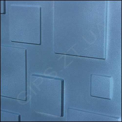 Гипсовая 3д панель • Плитка • от отделке краской
