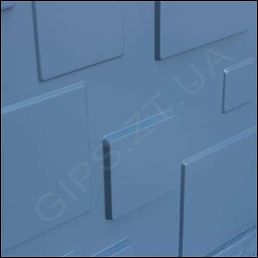 Гипсовая 3д панель • Плитка • от отделке
