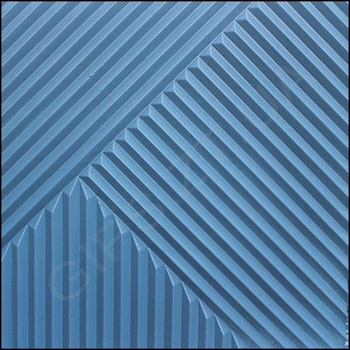 Гипсовая 3D панель (3Д Плитка) • Топ-Лайн • настенная панель в прямыми линиями