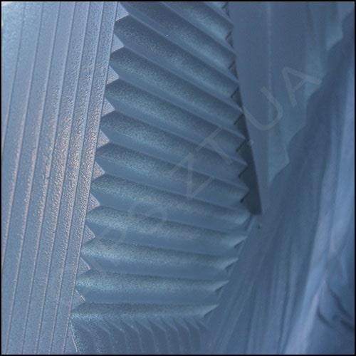 Гипсовая 3D панель (3Д Плитка) • Топ-Лайн • рисунок имеет три направления продольных линий