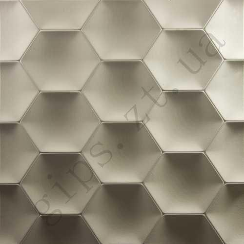 Гипсовая 3д панель Медок, для стен, декоративная 3 д плитка