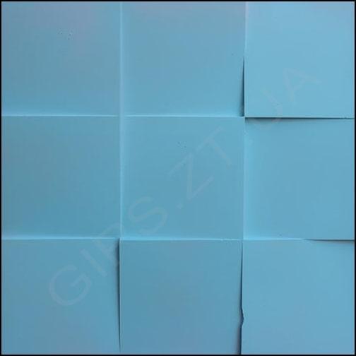 гипсовые 3д панели (3Д ПЛИТКА ) 3Д ПАНЕЛЬ из гипса КВАДРАТЫ дизайнерские 3д панели