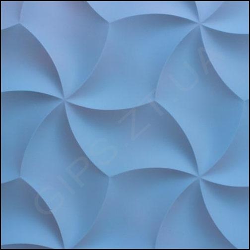 гипсовые 3д панели (3Д ПЛИТКА ) 3Д ПАНЕЛЬ из гипса ОРИГАМИ