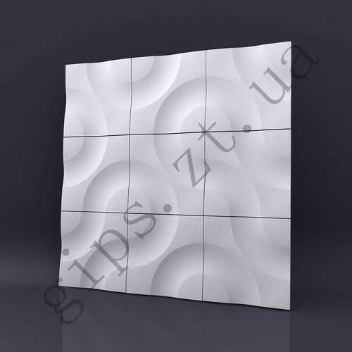 гипсовая 3д панель ЯДРА от производителя заказать 3д плитку можно у нас, по низкой цене. Купить ядра 3d