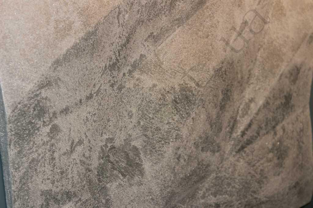 Декоративная-3д-панель-из-гипса-Кристаллы,вскрыта-декоративной-штукатуркой,в-отделке (1)