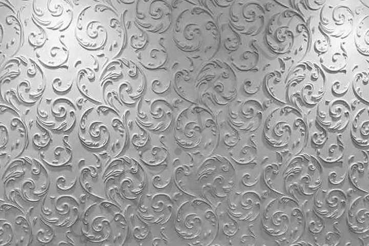 стеновая 3д панель из гипса Верона, есть в наличии, классический стиль, мелкие завитушки от компании nikas
