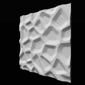 Гипсовая 3D Панель - Плитка ВПАДИНЫ